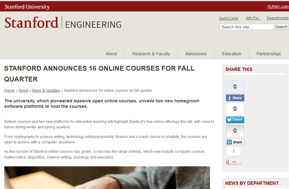 stanford online writing courses See our list of universities that offer free online writing courses learn about what courses are available and what topics they cover to find the course.