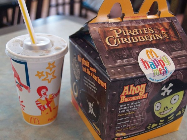 McDonald's Happy Meal Image credits