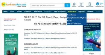 Top 3 off-beat websites to prepare for bank examinations