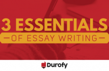 3 Essentials of Essay Writing