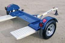 tow dolly, car towed